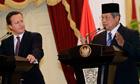 Susilo Bambang Yudhoyono, David Cameron