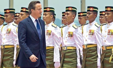 David Cameron visits Malaysia 12/4/12
