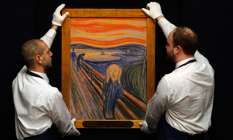 Edvard Munch's The Scream comes to London | Art and design ...