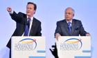 David Cameron and Najib Razak