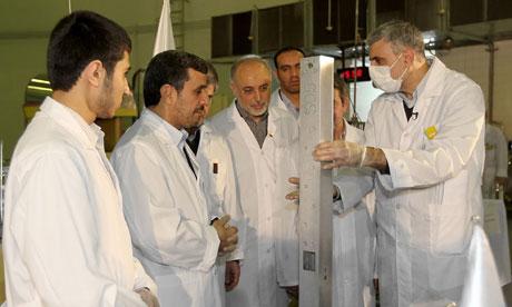 Iran president Mahmoud Ahmadinejad said; 'The Iranian nation is standing firm on its fundamental rights.'