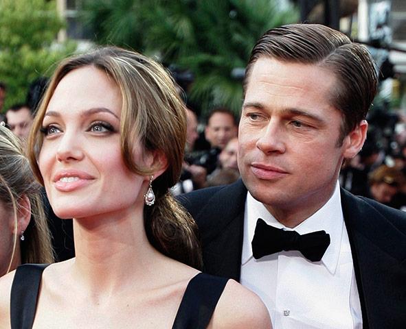 Engagement: Pitt & Jolie: Brad Pitt and Angelina Jolie are engaged
