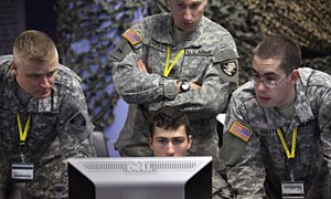 Cyberwar games at West Point