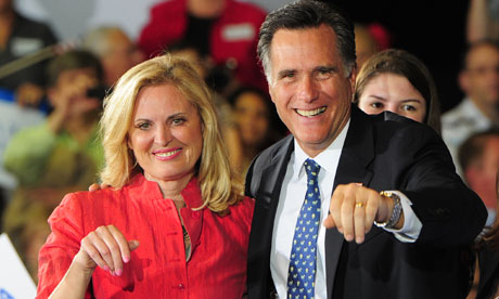 Ann Romney with her husband Mitt