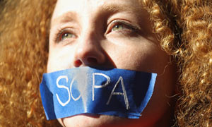 SOPA protest