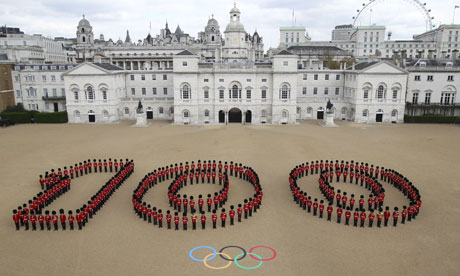 A crucial 100 days for London's Olympics