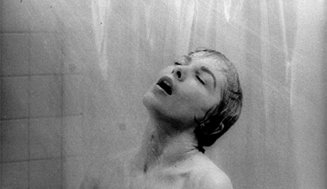 Psycho, film still, Alfred Hitchcock
