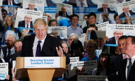 Boris Johnson in Orpington 17/4/12