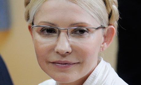 Yulia Tymoshenko says the charges against her are part of a campaign by the Ukrainian president to bar her from politics.
