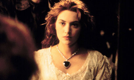 ... in a still from the film Titanic Photograph: Allstar Picture Library