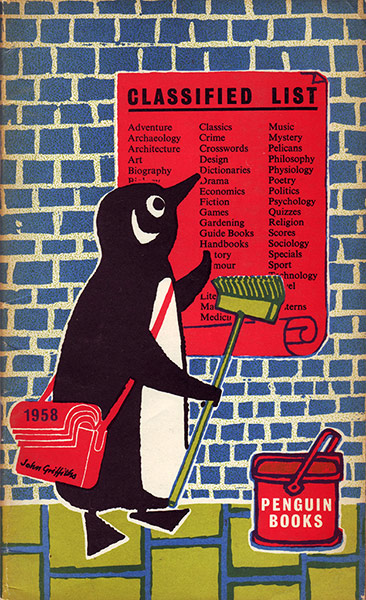 Illustrated Book Cover Number ~ Penguin book covers illustrated by john griffiths in