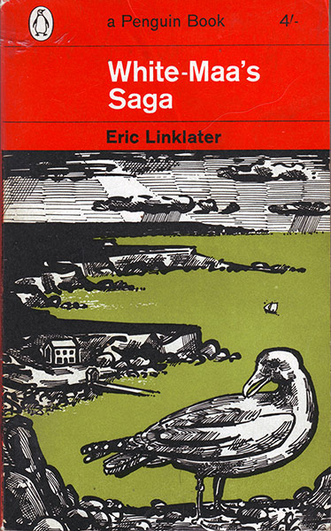 John Griffiths: John Griffiths's cover for Eric Linklater's, White Maa's Saga