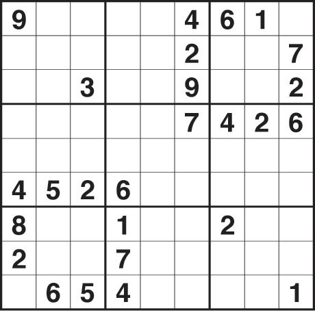 Sudoku 2167 hard
