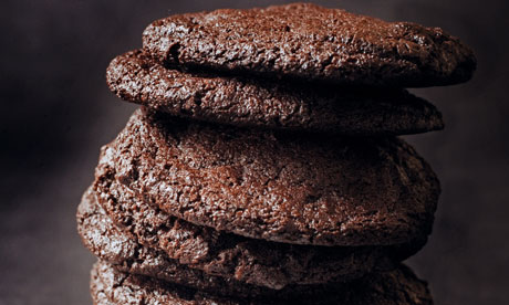 Chocolate-chocolate cookies