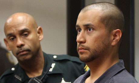 George Zimmerman at his court hearing last week