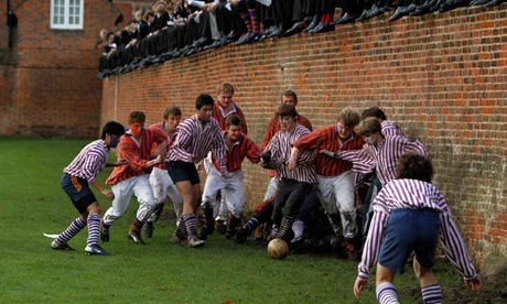 Eton wall game