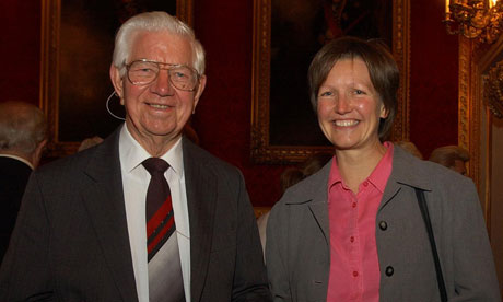 Lord Ashley of Stoke, pictured with his daughter Jane Ashley, has died aged 89