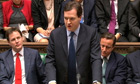 George Osborne delivers budget 2012