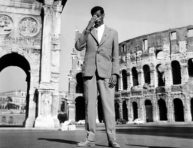 50 moments: Abebe Bikila in Rome in 1960