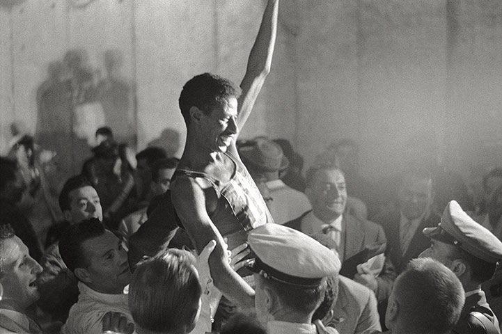 50 moments: Abebe Bikila triumphant