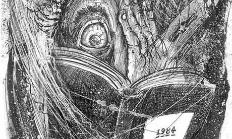 Martin Rowson illustration for 1948