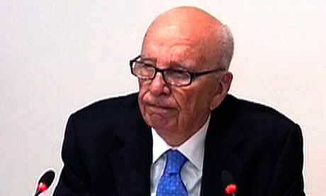 Rupert Murdoch at the Leveson inquiry