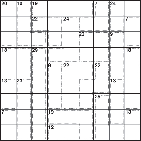 Sudoku killer 291