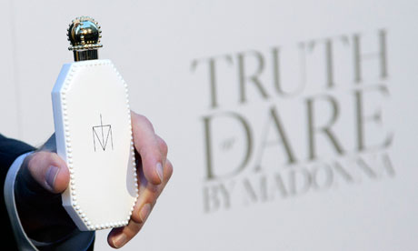 A bottle of Truth or Dare by Madonna