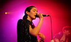 Caroline Polachek of Chairlift performs at the Scala in London