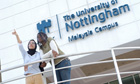 Students at Nottingham University, Malaysia Campus