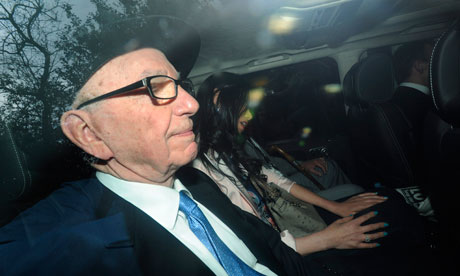 Ruopert Murdoch at the Leveson Inquiry