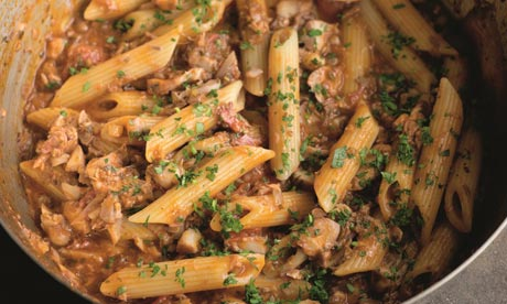 Mitch Tonks ragu of red mullet with penne