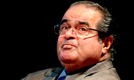 US supreme court Justice Antonin Scalia, 2011