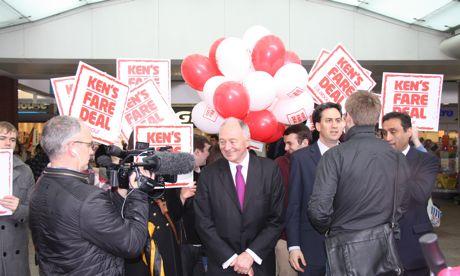 Ken Livingstone Ed Miliband