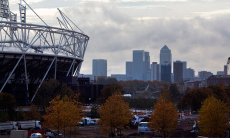Olympic Stadium Canary Wharf