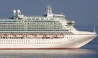 The P&O cruise ship Ventura off the coast of Monaco