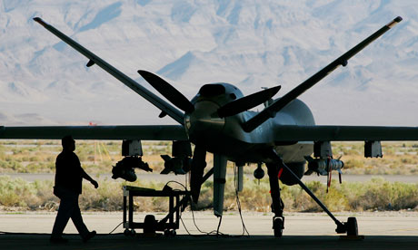 Reaper Aircraft Flies Without Pilot From Creech AFB