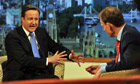David Cameron on BBC1's Andrew Marr programme