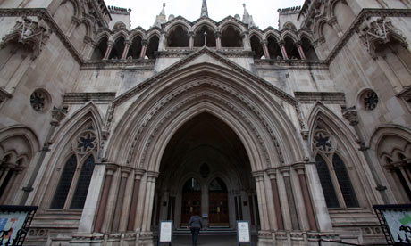 The Royal Courts of Justice, the Strand, London
