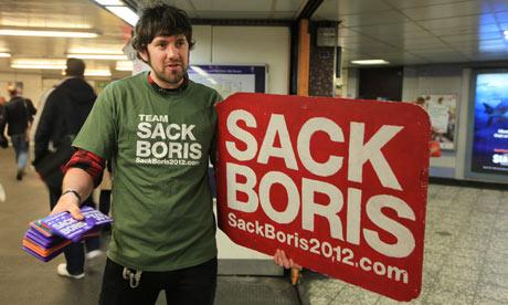 Sack Boris campaigners