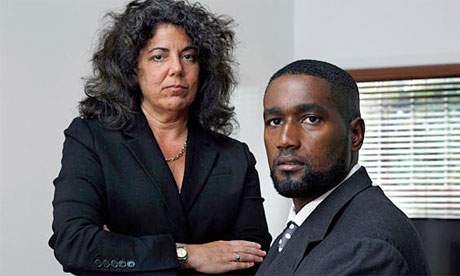 Albert Florence, with attorney Susan Chana Lask, in 2011