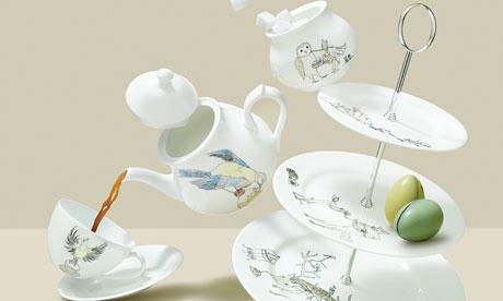Mellor Ware china tea set