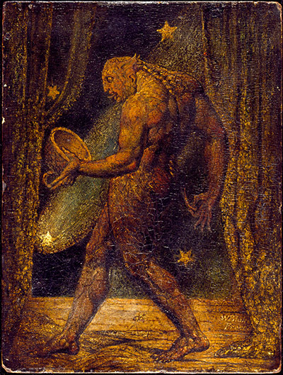 Tate collection: The Ghost of a Flea by William Blake
