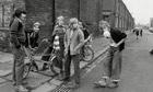 Children with Raleigh Chopper bikes