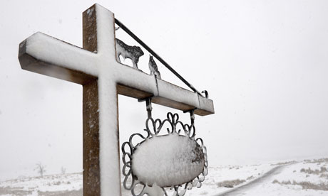 Blizzard hits Welsh sheep farmers
