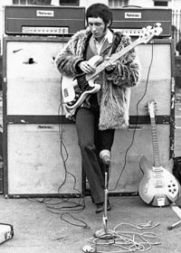 John Entwistle in 1966.