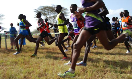 Kenya's marathon men What is the key to Kenya's phenomenal success in long-distance running? Sprinting to school and a hunger for success