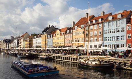 Nyhavn canal in Copenhagen