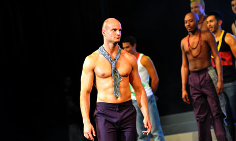 Andreas Derlrth, 32, of New Zealand, was crowned Mr Gay World 2012