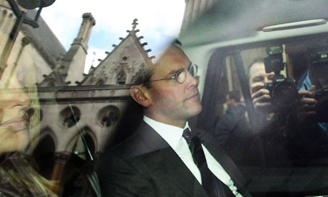 James Murdoch at Leveson inquiry